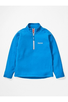 Girls' Rocklin 1/2 Zip Jacket, Classic Blue, medium
