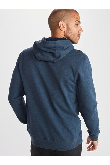 Men's Piste Hoody, Dark Indigo Heather, medium