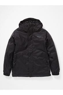 Kids' PreCip Eco Insulated Jacket, Black, medium