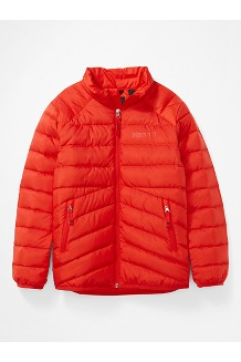 Kids' Highlander Down Jacket, Victory Red, medium