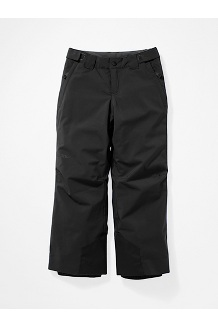 Kids' Vertical Pants, Black, medium