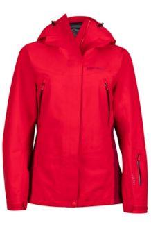 Wm's Spire Jacket, Tomato/Red Dahlia, medium