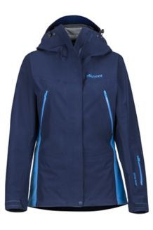 Women's Spire Jacket, Dark Navy/Lakeside, medium