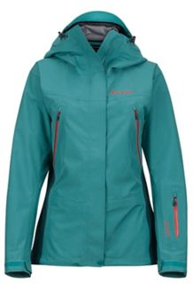 Wm's Spire Jacket, Patina Green/Deep Teal, medium