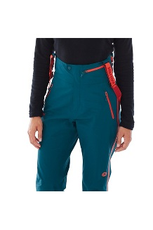 Women's Spire Bib Pants, Arctic Navy, medium