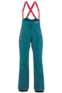 Women's Spire Bib Pants, Deep Teal, medium