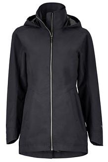 Women's Lea Jacket, Black, medium