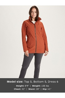 Women's Lea Jacket, Picante, medium
