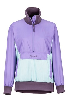 Women's Lynx DriClime Anorak, Paisley Purple/Blue Tint, medium