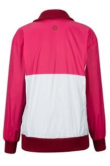 Women's Lynx DriClime Anorak, Disco Pink/White, medium