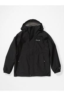 Girls' Minimalist Jacket, Black, medium