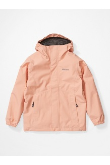 Girls' Minimalist Jacket, Pink Lemonade, medium