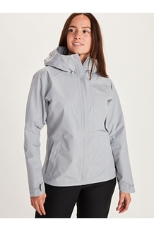 Women's Minimalist Jacket, Sleet, medium