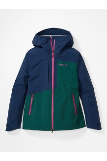 Women's Huntley Jacket, Botanical Garden/Arctic Navy, medium