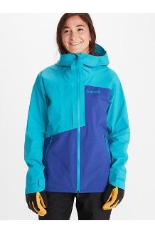Women's Huntley Jacket, Royal Night/Enamel Blue, medium