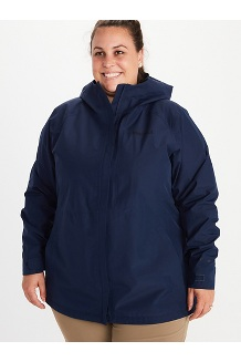 Women's Minimalist Jacket Plus, Arctic Navy, medium
