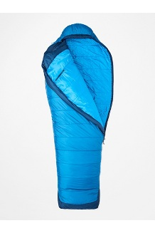 Trestles Elite Eco 20° Sleeping Bag - Extra-Wide, Estate Blue/Classic Blue, medium