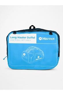 Long Hauler Duffel Bag - Large, Clear Blue/Dark Steel, medium