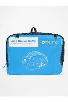 Long Hauler Duffel Bag - Extra Large, Clear Blue/Dark Steel, medium