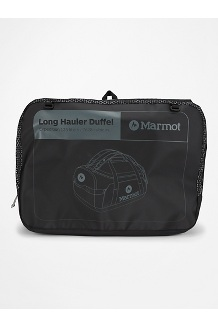Long Hauler Expedition Duffel Bag, Black, medium