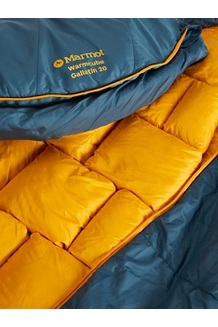 WarmCube Gallatin 20° Sleeping Bag - Long, Stargazer/Solar, medium