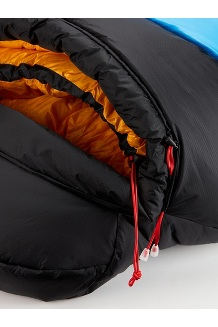 WarmCube Expedition Sleeping Bag, Clear Blue/Black, medium