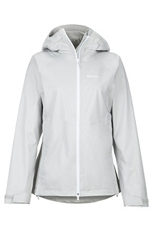 Women's PreCip Stretch Jacket, Platinum, medium