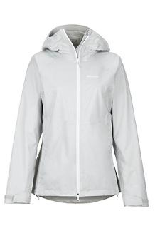 Women's PreCip Stretch Jacket, Platinum, medium