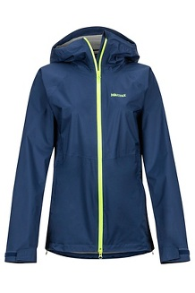 Women's PreCip Stretch Jacket, Arctic Navy, medium
