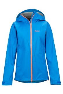 Women's PreCip Stretch Jacket, Clear Blue, medium