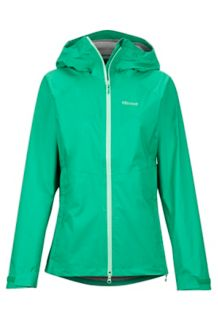 Women's PreCip Stretch Jacket, Turf Green, medium
