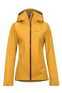 Women's PreCip Stretch Jacket, Yellow Gold, medium