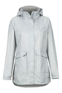 Women's Ashbury PreCip Jacket, Bright Steel, medium
