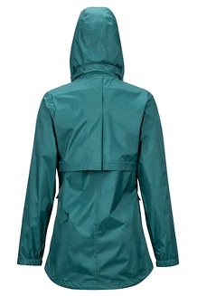 Women's Ashbury PreCip Jacket, Deep Teal, medium