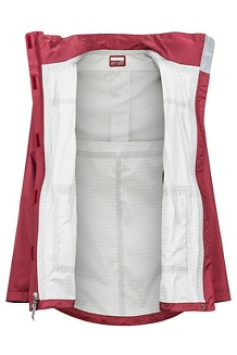 Women's Ashbury PreCip Jacket, Claret, medium