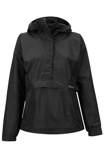 Women's Bennu Anorak, Black, medium