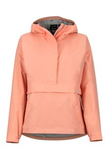 Women's Bennu Anorak, Coral Pink, medium