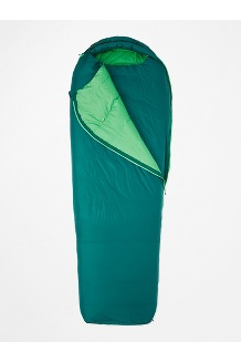 Yolla Bolly 30° Sleeping Bag - Short, Botanical Garden/Kelly Green, medium