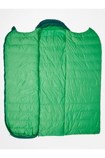 Yolla Bolly 30° Sleeping Bag - Long, Botanical Garden/Kelly Green, medium