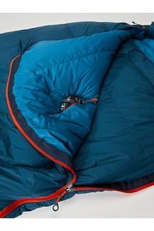Yolla Bolly 15° Sleeping Bag, Denim/Atlantic, medium