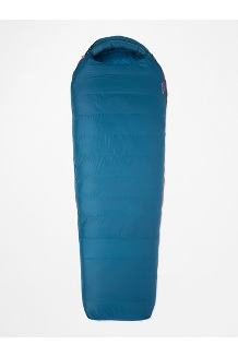 Yolla Bolly 15° Sleeping Bag - Long, Denim/Atlantic, medium