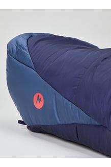 Women's Trestles Elite Eco 20° Sleeping Bag Plus, Midnight/Storm, medium
