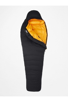Paiju -5° Sleeping Bag, Black/Solar, medium