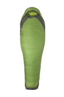 Women's Trestles Elite Eco 30 Sleeping Bag, Wheatgrass/Crocodile, medium