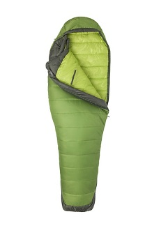 Women's Trestles Elite Eco 30° Sleeping Bag, Wheatgrass/Crocodile, medium