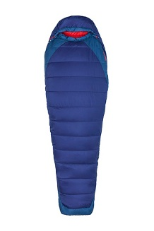 Women's Trestles Elite Eco 20 Sleeping Bag, Midnight/Storm, medium