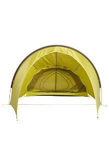 Tungsten Ultralight Hatchback 3-Person Tent, Dark Citron/Citronelle, medium