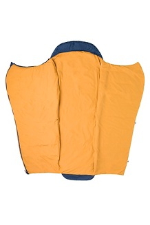 Zuma 30° Sleeping Bag, Total Eclipse/Buckthorn Brown, medium