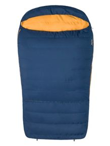 Zuma Double Wide 35 Sleeping Bag, Total Eclipse/Buckthorn Brown, medium