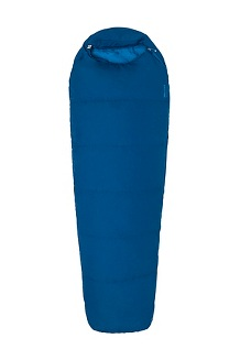 Nanowave 50° Semi Rec Sleeping Bag - Long, Estate Blue, medium